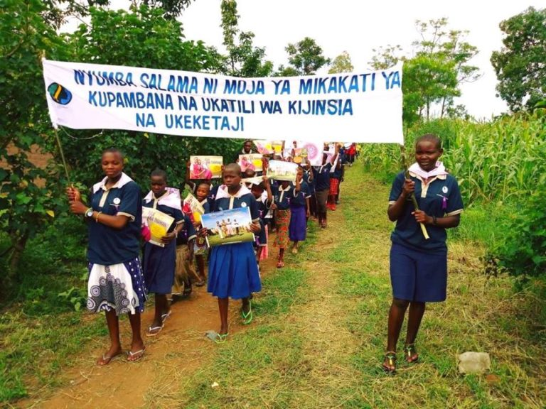 16 Days March around Mugumu, Tanzania, in December 2015