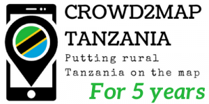 Crowd2Map logo - 5 years of mapping