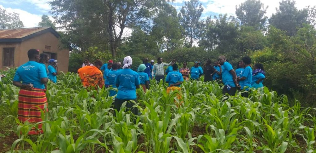 Farmers receive training